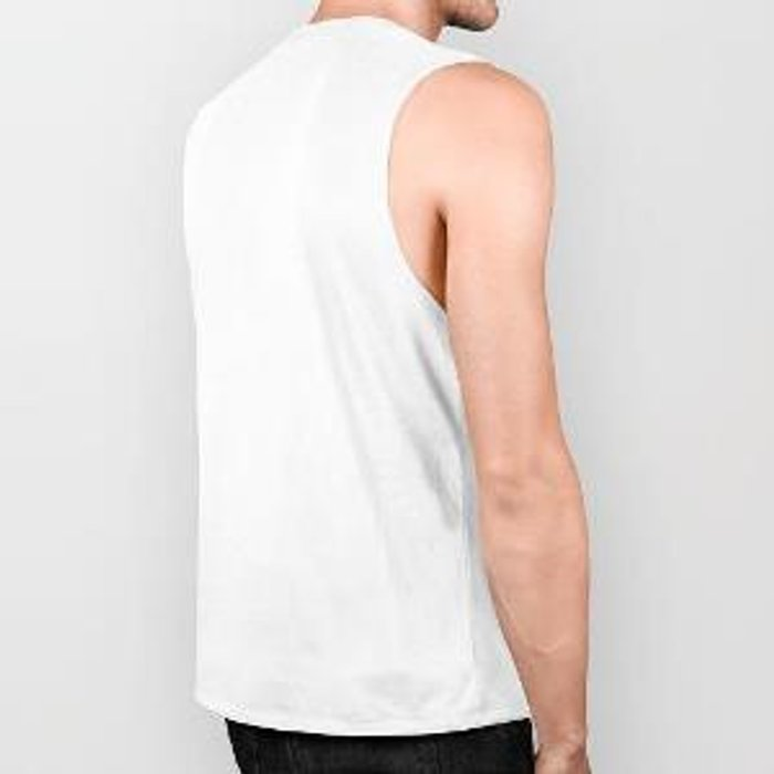 Try To Make Sense Of It All - Random, geometric, eclectic, abstract, colourful art Biker Tank