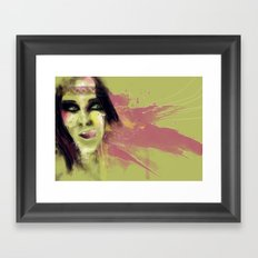 Native Framed Art Print