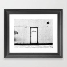 Pier 50A Framed Art Print