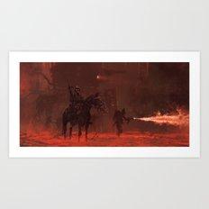 1920 - apocalypse day Art Print