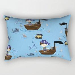 Pirate Story Rectangular Pillow