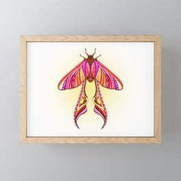 EtEHtH Moth (Original) Framed Mini Art Print