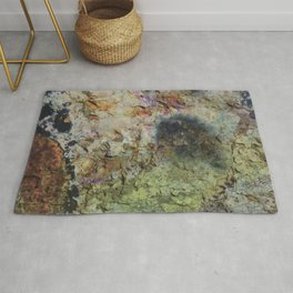 """Rusty grunge surface"" Rug"
