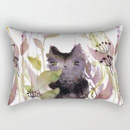 Adder in the Garden Rectangular Pillow