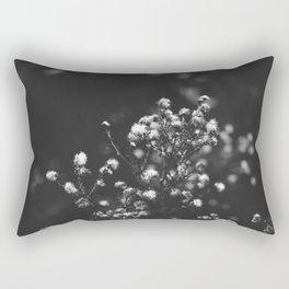 Black and white grass Rectangular Pillow
