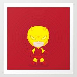 Daredevil Yellow Art Print