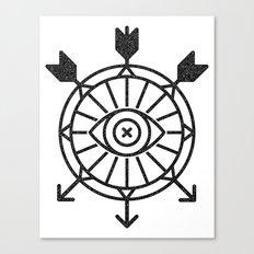 shield of arrows Canvas Print