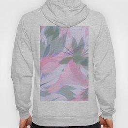 Flowering Vines in Soft Pink Hoody
