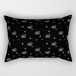 Night Pond Rectangular Pillow