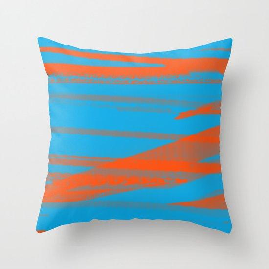 Digital Died/California Throw Pillow