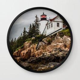 Bass Harbor Lighthouse - Acadia National Park Wall Clock