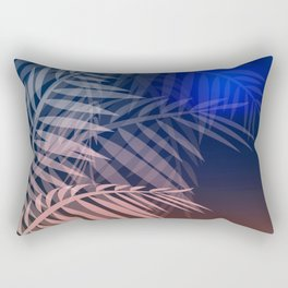 Tropical night Rectangular Pillow