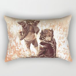 oiyama_super_sketchy_XD Rectangular Pillow