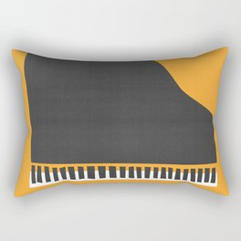 Grand Piano Rectangular Pillow