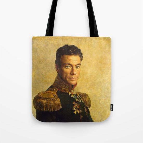 Jean Claude Van Damme - replaceface Tote Bag