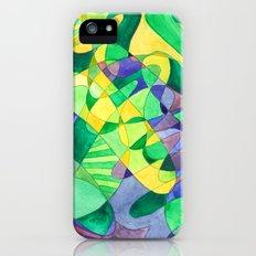 Green Doodle iPhone (5, 5s) Slim Case