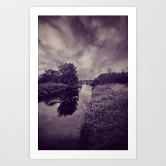 Badfish Creek Art Print