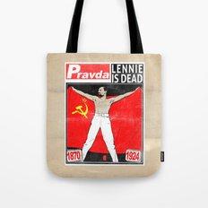 LENNIE IS DEAD Tote Bag
