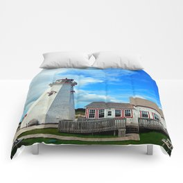 East Point PEI Lighthouse Comforters