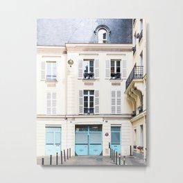 290. Parisian Street, Paris Metal Print
