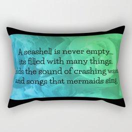 Mermaid Song Rectangular Pillow