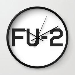 KAMIKAZE FU-2 Wall Clock