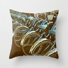 Cycle #3 Throw Pillow