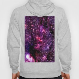 galaXY Pink & Purple Stars Hoody