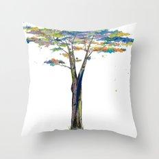 Jessi's Tree Throw Pillow