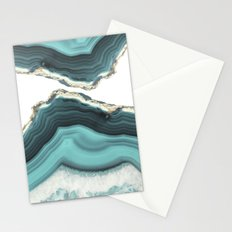 Sea Agate Stationery Cards