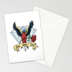 Love Never Dies swallow Stationery Cards