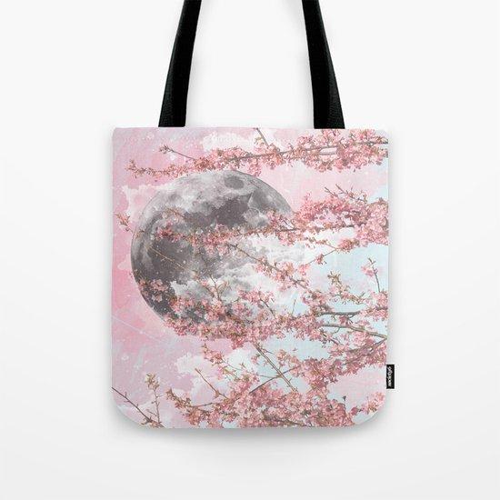 Spring Moon Tote Bag