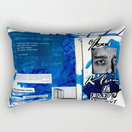 Yves Klein Rectangular Pillow