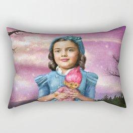 Troll doll Rectangular Pillow