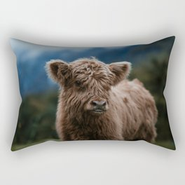 Baby Highland Cow Rectangular Pillow