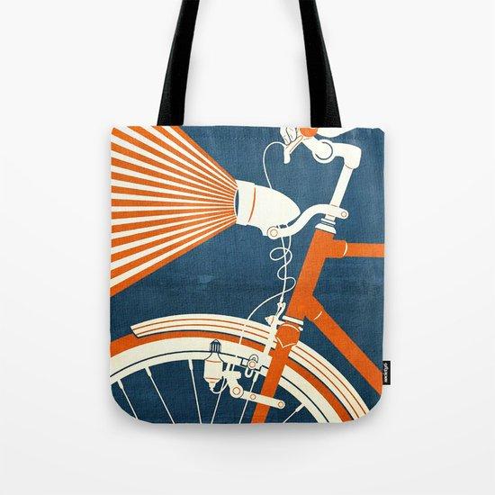 Bicycle Light Tote Bag