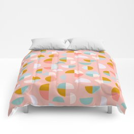 Playful Geometry Comforters