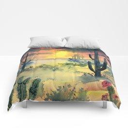 Desert Twilight Comforters