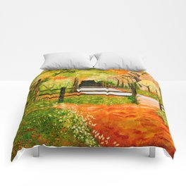 Newtown Creek Copse Comforters