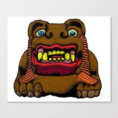 LION MAN Canvas Print