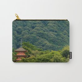 Japanese forest temple Carry-All Pouch