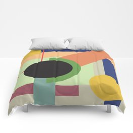 Abstract geometric composition study- Space Comforters