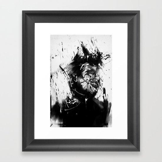 glasswall Framed Art Print