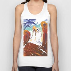 Bald Eagle 2 Unisex Tank Top