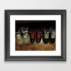FRESH KICKS Framed Art Print