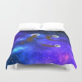 Otter space Duvet Cover