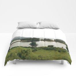 pictoresque norway Comforters