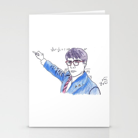 She's My Rushmore Stationery Cards