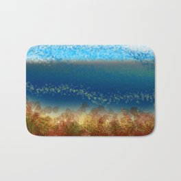 Abstract Seascape 01 w Badematte