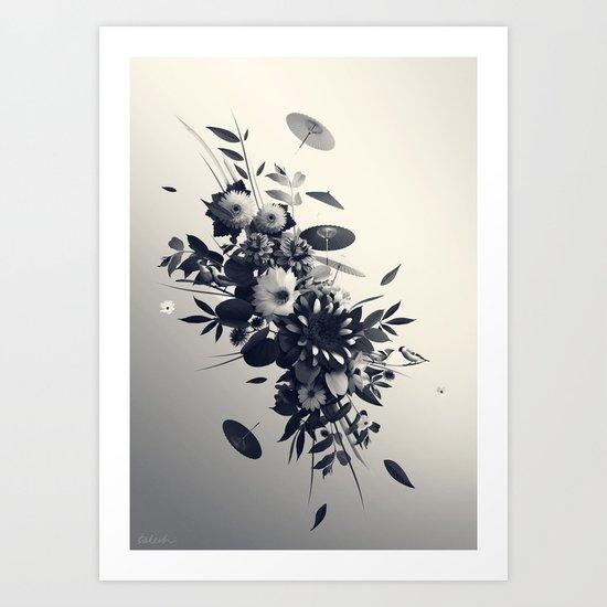 Décembre Art Print